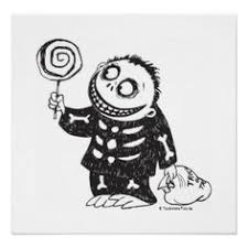 nightmare before christmas coloring page free download
