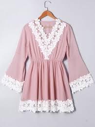 pink dress pink lace dress fashion shop trendy style online zaful