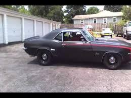 69 camaro flat black satin black 427 big block 4 speed dual camaro