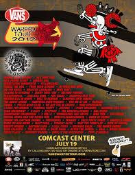 vans warped tour 2012 u2013 tickets u2013 xfinity center u2013 mansfield ma