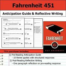 Study Guide and Study Questions for Fahrenheit     with a Fahrenheit     lesson plan   ELA