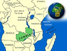 map of zambia map of zambia terrain area and outline maps of zambia