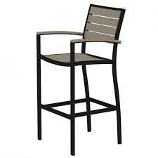 Stackable Resin Patio Chairs by Backyard Outdoor Resin Wicker Fiji Bar Stool W Arms Stools Cheap