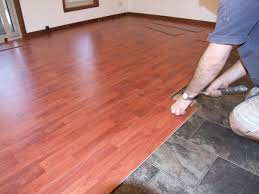 photo of hardwood floating floor wood floor installation floating