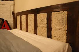 Antique Headboards King Bedroom Good Looking Antique King Sized Headboard Made From Old