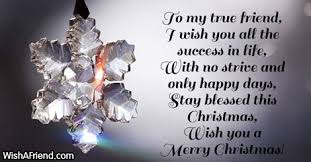 to my true friend i wish message for friends