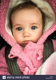 12 week old cute baby in gorgeous winter coat and
