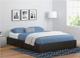 ameriwood furniture queen platform bed frame espresso