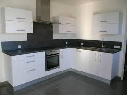 meubles de cuisine blanc cuisine moderne mélaminé blanc mat gilles martel