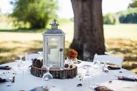 lantern wedding centerpiece add your big day with these rustic fall wedding
