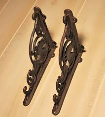country style wrought iron chicken design shelf bracket u2013 madison