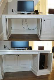 Build A Wood Computer Desk by 121 Best Bookcases And Built In Desks Images On Pinterest Office