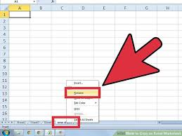 how to copy an excel worksheet 6 steps with pictures wikihow