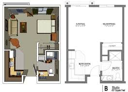 One Bedroom Apartment Plans And Designs Small  Bedroom Apartment - Small one bedroom apartment designs