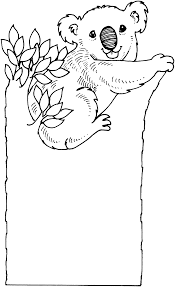 koala coloring pages bestofcoloring com