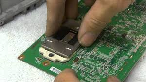 mitsubishi dlp l replacement mitsubishi white dots spots dlp chip ic replacement youtube