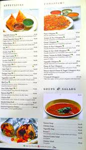 indian cuisine menu transcendent tropical southern indian cuisine at mayura essential