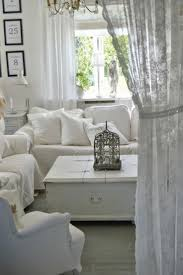 Shabby Chic Livingroom The Best White Lace Curtains Ideas On Pinterest Shabby Chic Living