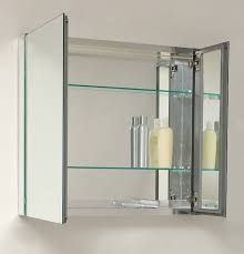 Bathroom Cabinet Mirrored 30 Wide Mirrored Bathroom Medicine Cabinet