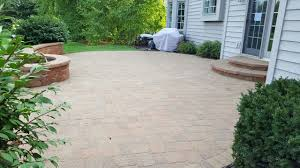 st charles il brick patio cleaned sanded and sealed by paver