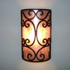 Iron Wall Sconce How To Decorate An Iron Wall Sconce Modern Wall Sconces And Bed