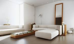 excellent minimalist in white living room design inspiration using