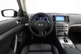 infiniti interior infiniti enhances its g line up for 2010