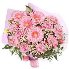 pink bouquet pink wedding bouquets floral arrangements tropical pink bouquets