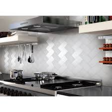 Stick On Kitchen Backsplash 32 Pcs Peel And Stick Kitchen Backsplash Adhesive Metal Tiles For