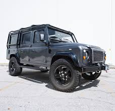 lifted land rover 2016 under armour ceo u0027s insane land rover defender sir and sport magazine