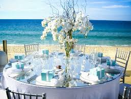 wedding reception centerpieces beach decorating of party