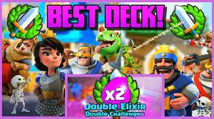Challenge Best Clash Royale Top 5 Elixir Challenge Best Decks