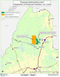 Colorado National Parks Map by Hidden Gem Of The Northeast Maine U0027s North Woods Could Be New