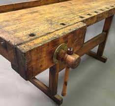 Carpentry Work Bench Vintage 1920 U0027s Work Bench Carpenter U0027s Table Cityfoundry