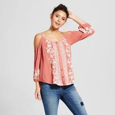 flowy blouses juniors tops s clothing target
