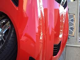 my torch red paint after color sanding detail corvetteforum