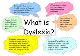 dyslexia poster by dawnbramley teaching resources tes