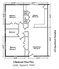amazing two bedroom floor plans one bath pictures inspiration