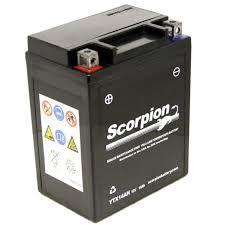 ytx14ah bs battery scorpion 12 volt motorcycle batteries