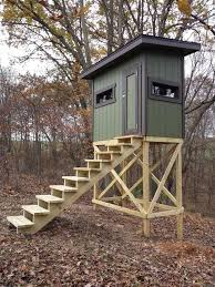 Stand Up Hunting Blinds Best 25 Deer Stands Ideas On Pinterest Hunting Stands Hunting