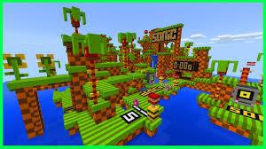 Mcpe Maps App Minecraft Pe Maps Super Fast Parkour Sonic The Hedgehog Parkour
