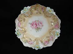 rs prussia bowl roses r s prussia bowl garlands antique vintage plates bowls