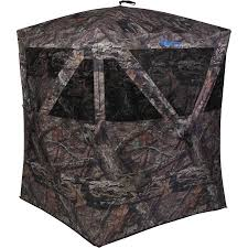 Building A Hunting Blind Backwoods Hunting Blind Mossy Oak Camouflage Pattern Walmart Com
