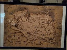 Skyrim World Map by Who Still Has Their Map Skyrim