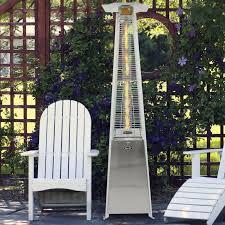 Garden Radiance Patio Heater by Dyna Glo Dyna Glo Pyramid Flame 42 000 Btu Propane Patio Heater