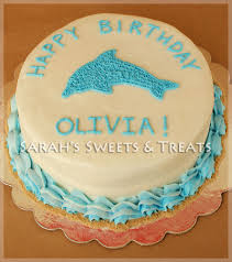 dolphin birthday cake sarah u0027s sweets u0026 treats