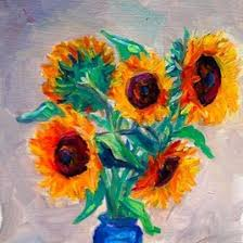 Vase Of Sunflowers Vase Original Art Paintings Dailypainters Com