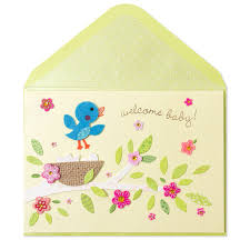 baby bibs on clothesline baby shower cards papyrus