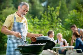 throw an alfresco bbq soiree for dad on father u0027s day weather