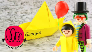 it special how to make georgie u0027s paper boat origami for kids with